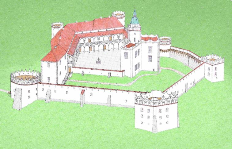 Znalezione obrazy dla zapytania rekonstrukcja zamku tenczyn